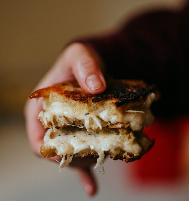 Grilled Cheese Sandwich by Nathan Dumlao